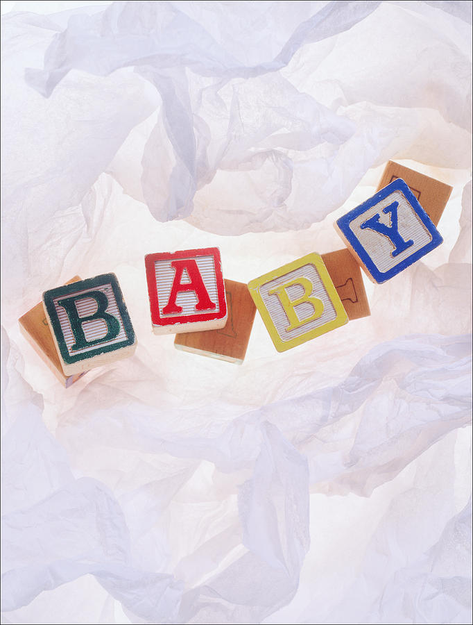 Paper Photograph - Baby by Morocco Flowers Images