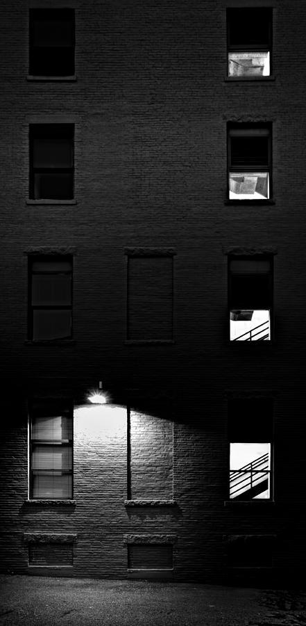 Architecture Photograph - Back Alley 330am by Bob Orsillo