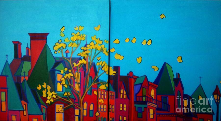 Boston Painting - Back Bay Boston by Debra Bretton Robinson
