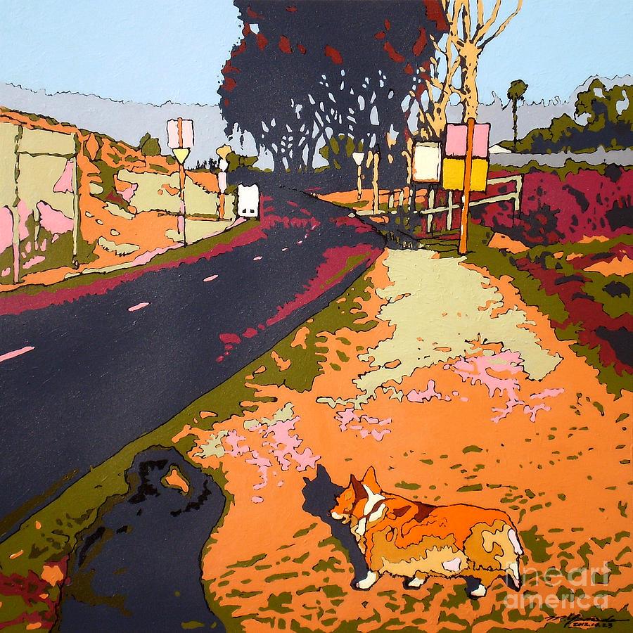 Back Bay Trail #567 Painting by Max Yamada