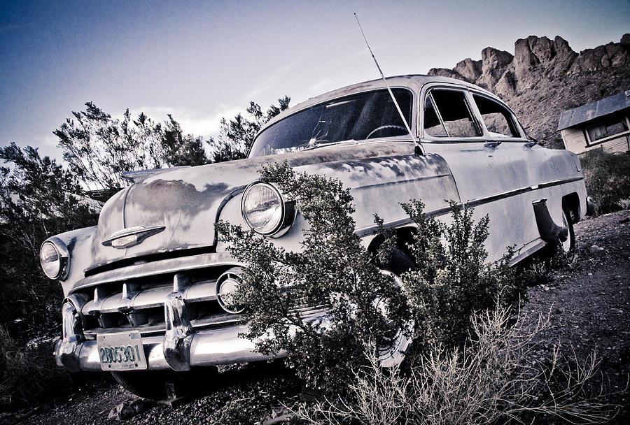 53 Chevy Photograph - Back In 53 by Merrick Imagery