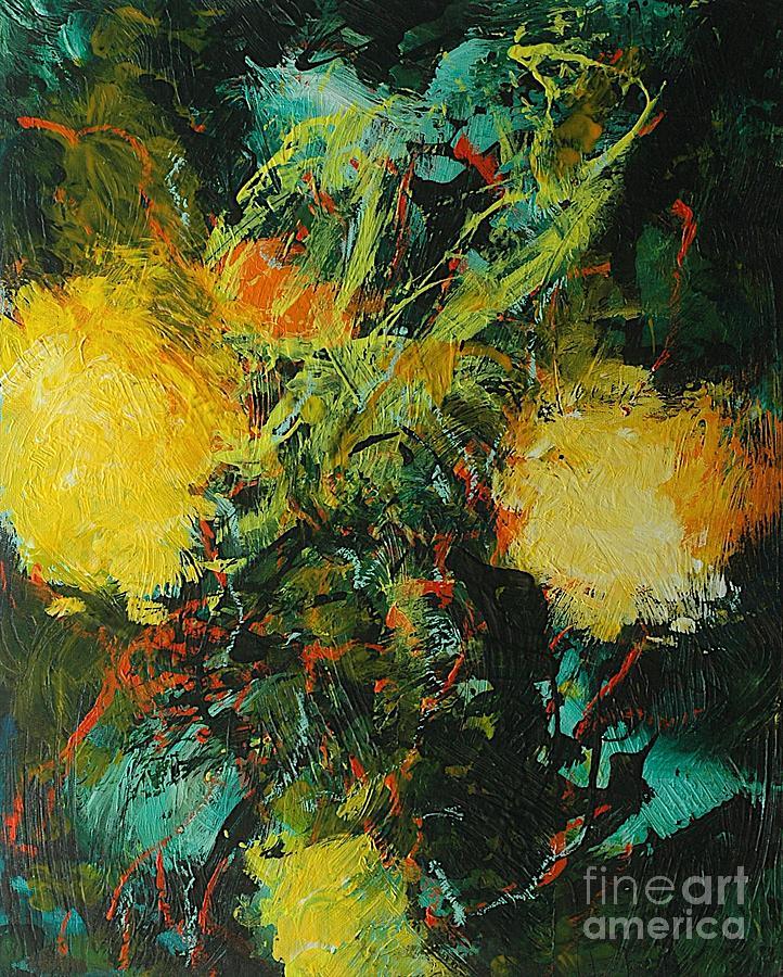 Landscape Painting - Back To Eden by Allan P Friedlander