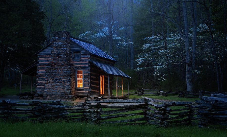 Cabin Photograph - Back To Good Old Days by J&w Photography
