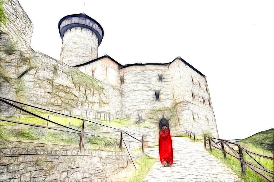 Castle Digital Art - Back To Home by Michal Boubin