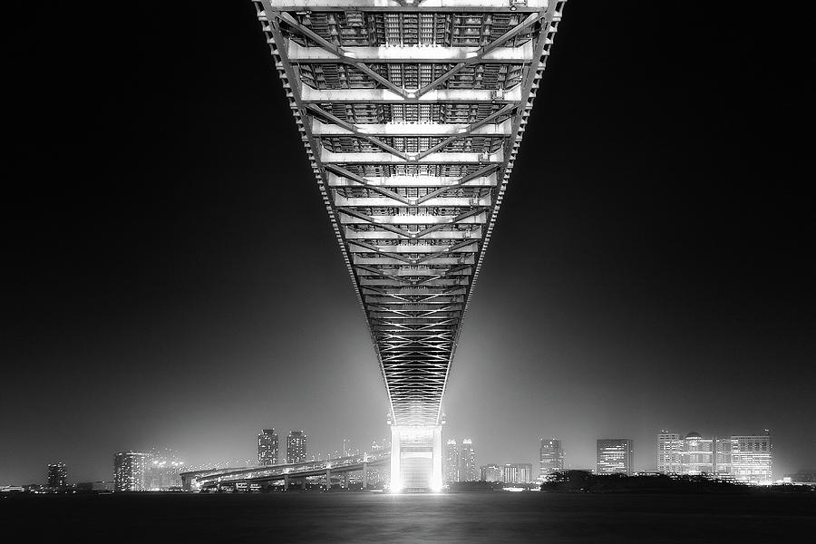 Bridge Photograph - Back To Human Life 2014 Hikarie Edition by Dr. Akira Takaue
