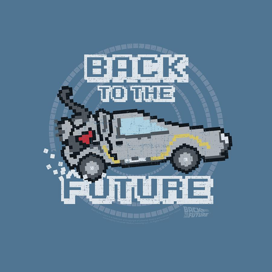 Back To The Future Digital Art