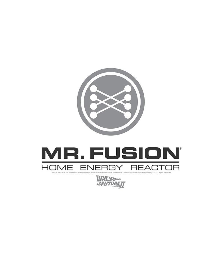 Back To The Future II - Mr. Fusion Logo Digital Art by Brand A