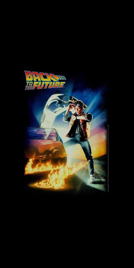 Back To The Future - Poster Digital Art by Brand A