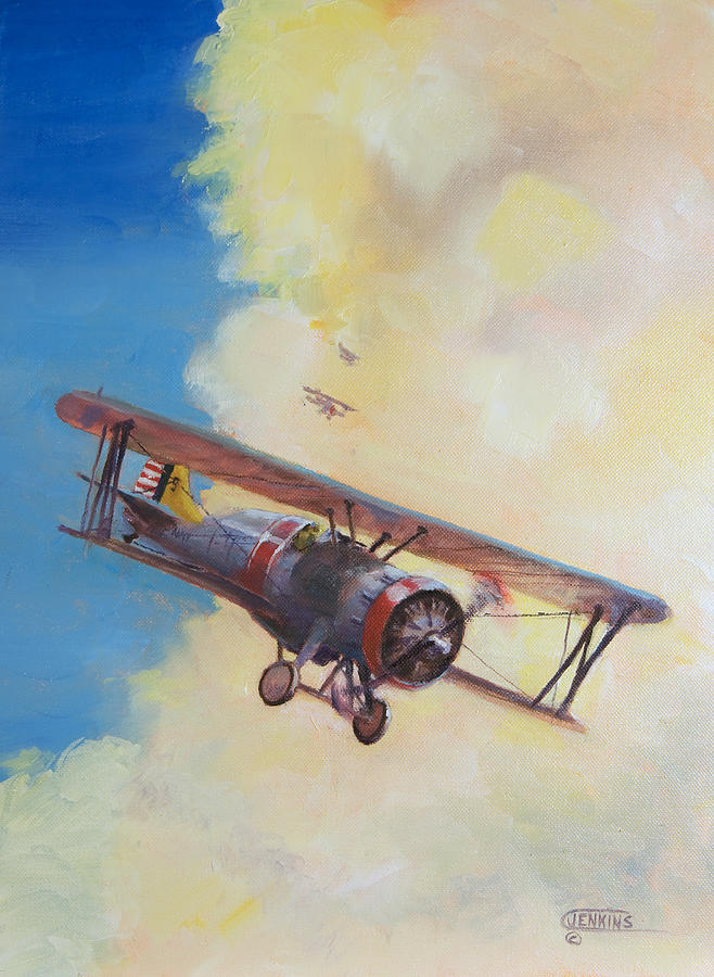 Boeing Painting - Back To The Lexington by Christopher Jenkins