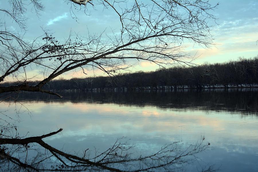 Potomac Photograph - Backlit Skies On The Potomac River by Bill Helman