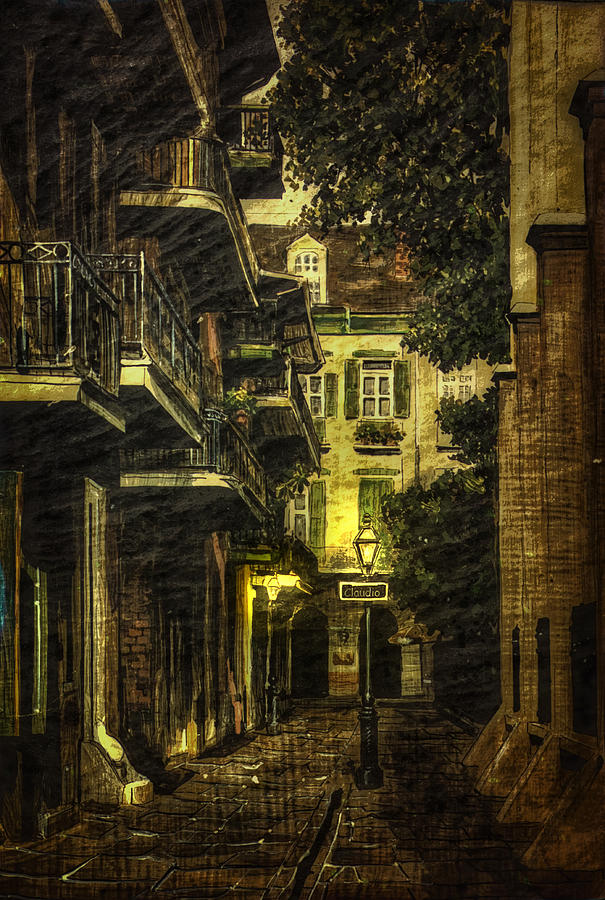 Alley Photograph - Backstreet by Gary Smith