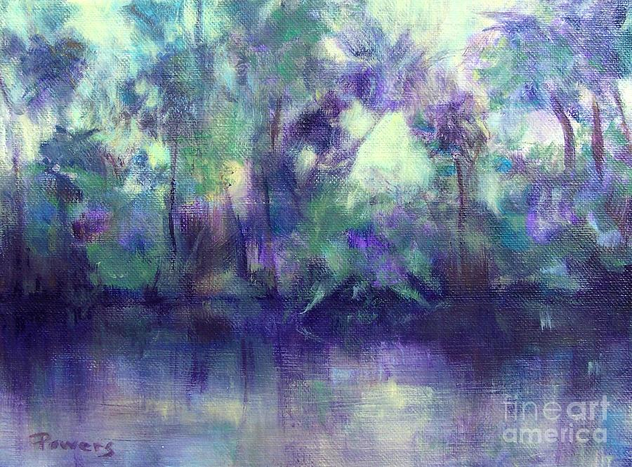 Backwater Painting by Mary Lynne Powers