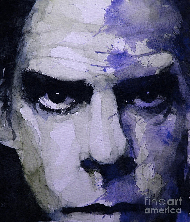 Nick Cave Painting - Bad Seed by Paul Lovering