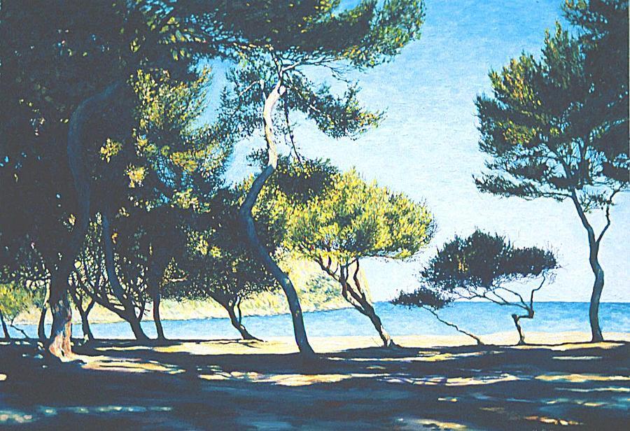 Mallorca Painting - Badia De Alcudia -- Mallorca by Herschel Pollard