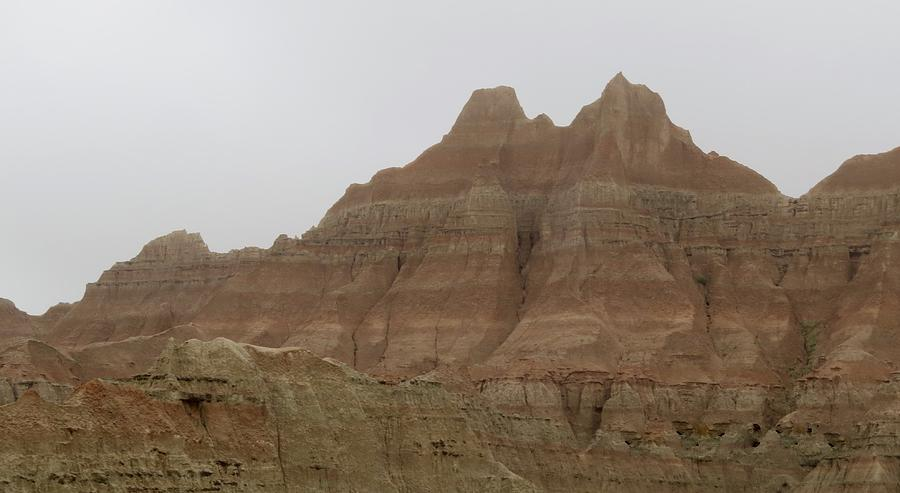 Landscape Photograph - Badlands Beauty  by Diane Mitchell