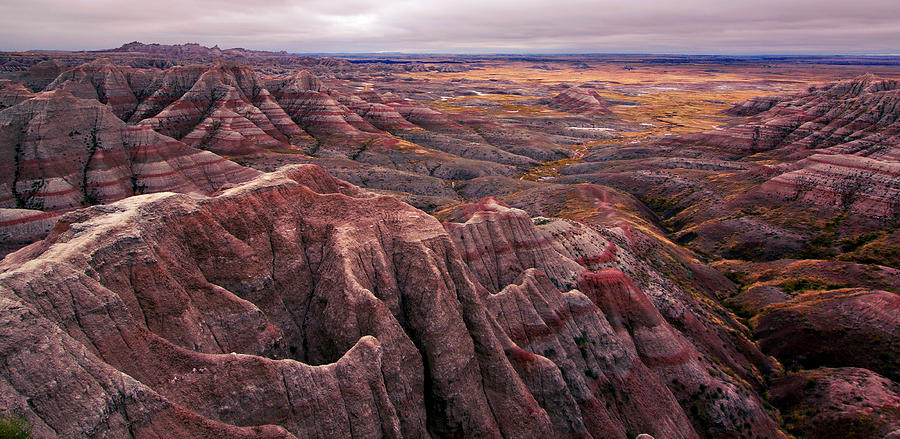 Badlands National Park Photograph - Badlands by Deborah Johnson