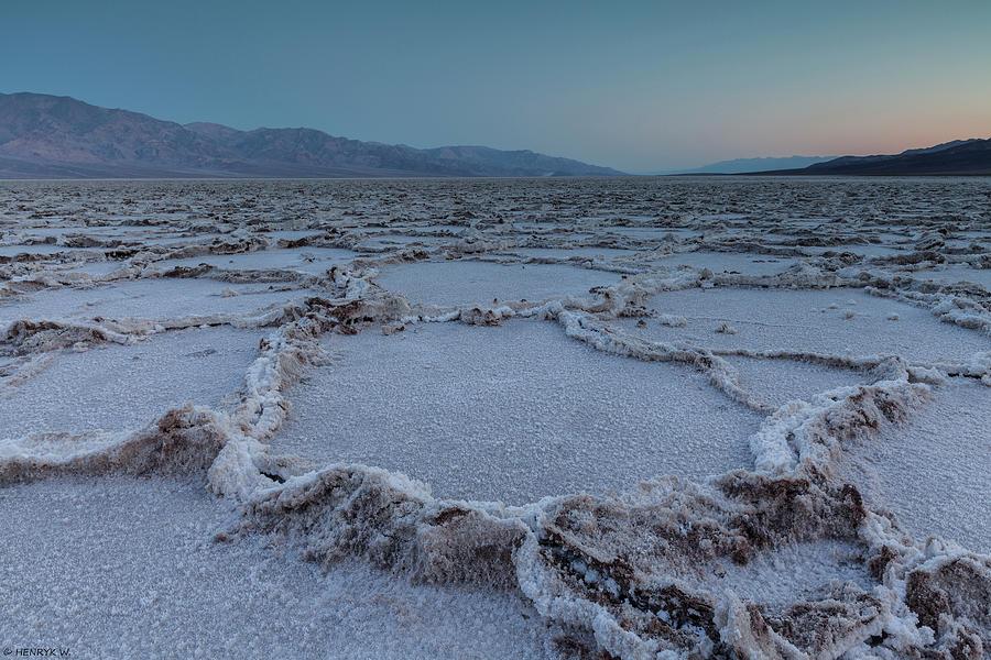 Badwater Salt Flats Photograph by Henryk Welle