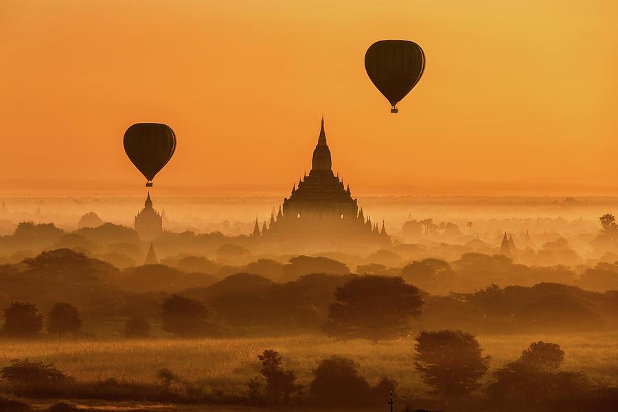 Bagan Myanmar Photograph by Monthon Wa