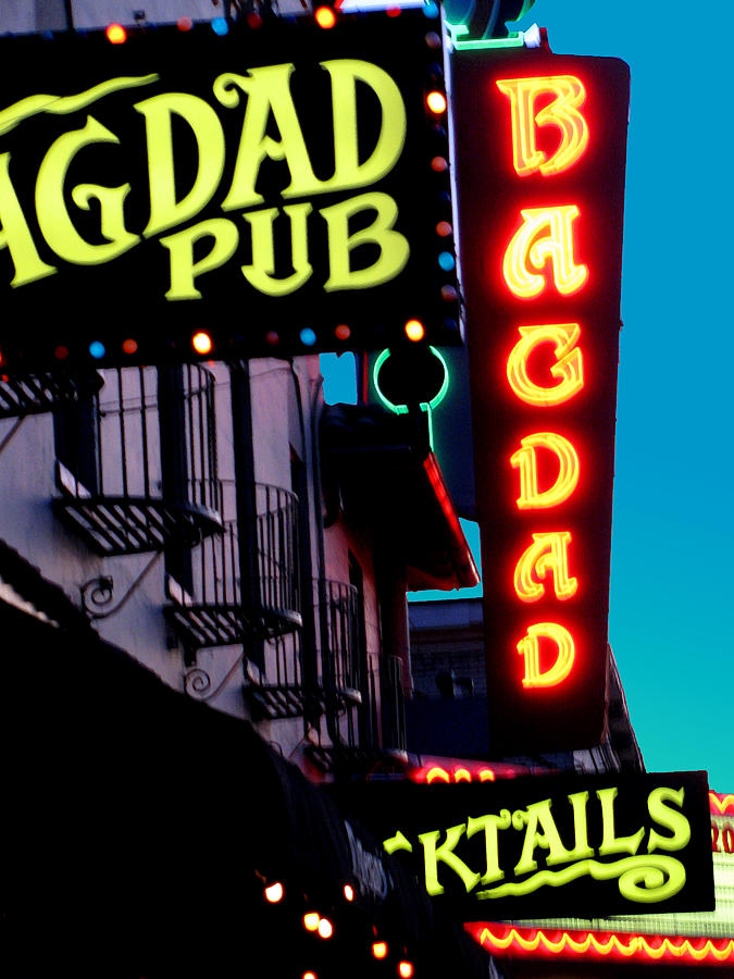 Portland Or Photograph - Bagdad Pub by Gail Lawnicki