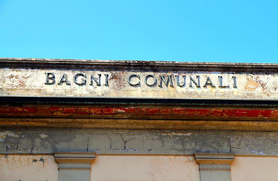 Bagni Comunali Photograph by Valentino Visentini