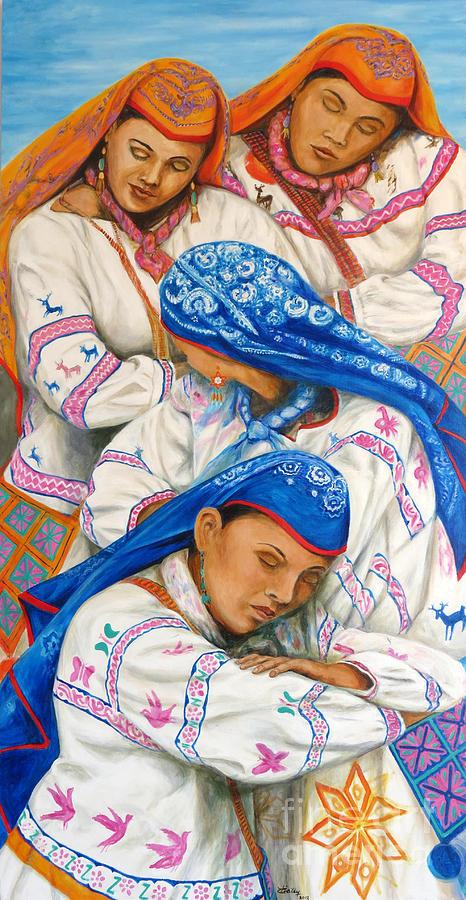 Baile Huicholes by Pat Haley