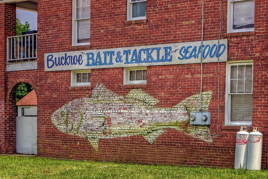 Buckroe Bait Tackle Seafood Shop Photograph