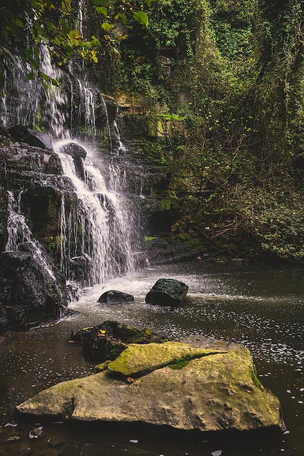 Waterfall Photograph - Bajouca Waterfall Ix by Marco Oliveira
