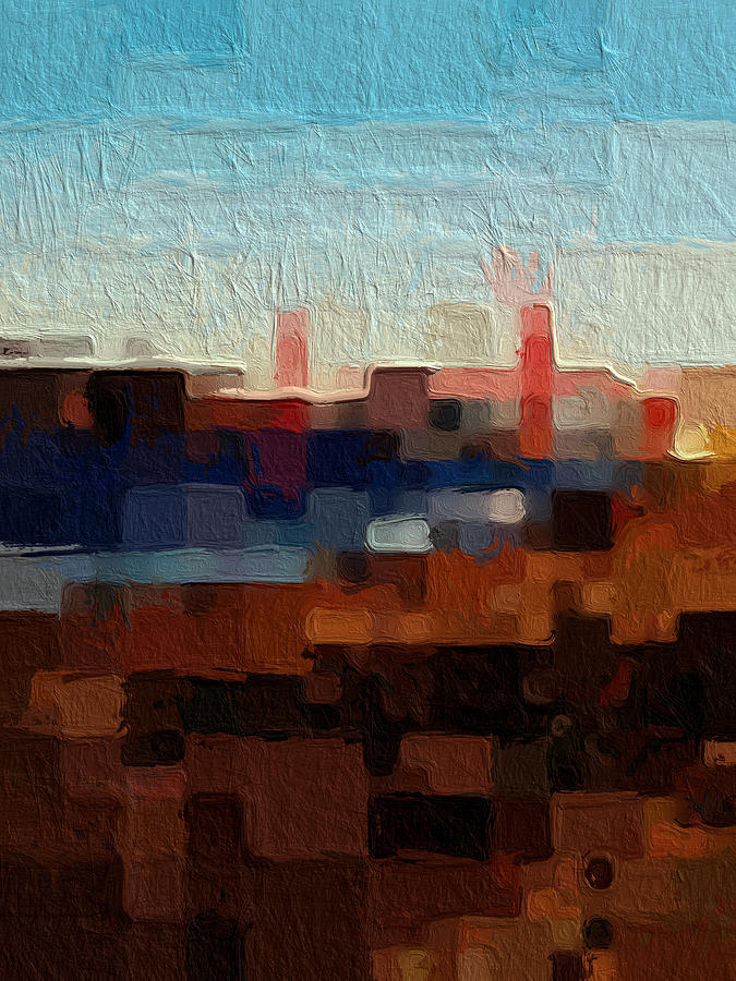 Golden Gate Bridge Painting - Baker Beach by Linda Woods