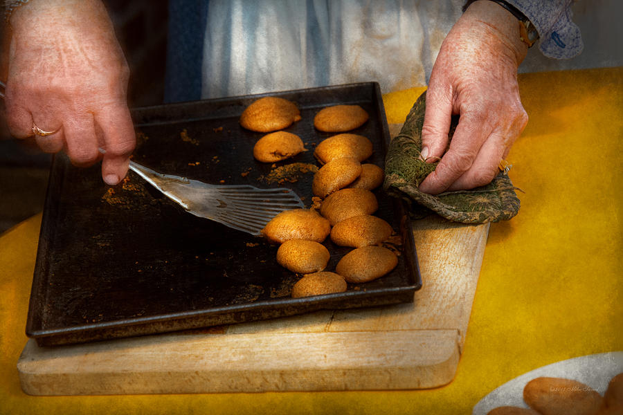 Cook Photograph - Baker - Food - Have Some Cookies Dear by Mike Savad