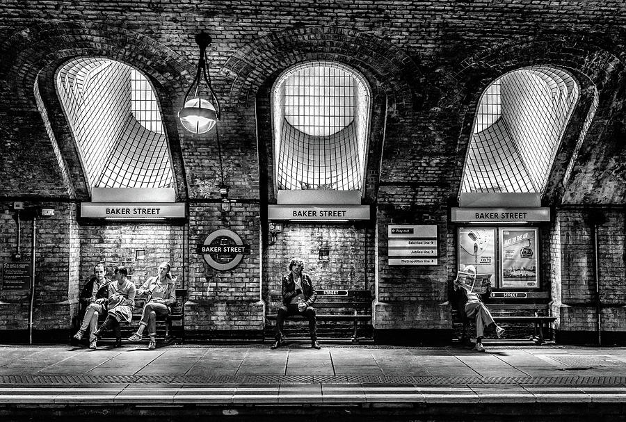 London Photograph - Baker Street by Marc Pelissier
