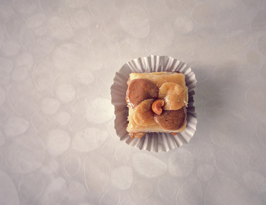 Belgium Photograph - Baklawa With Almonds by Samere Fahim Photography