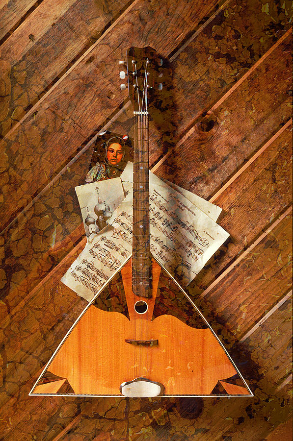 Russian Photograph - Balalaika by Garry Gay
