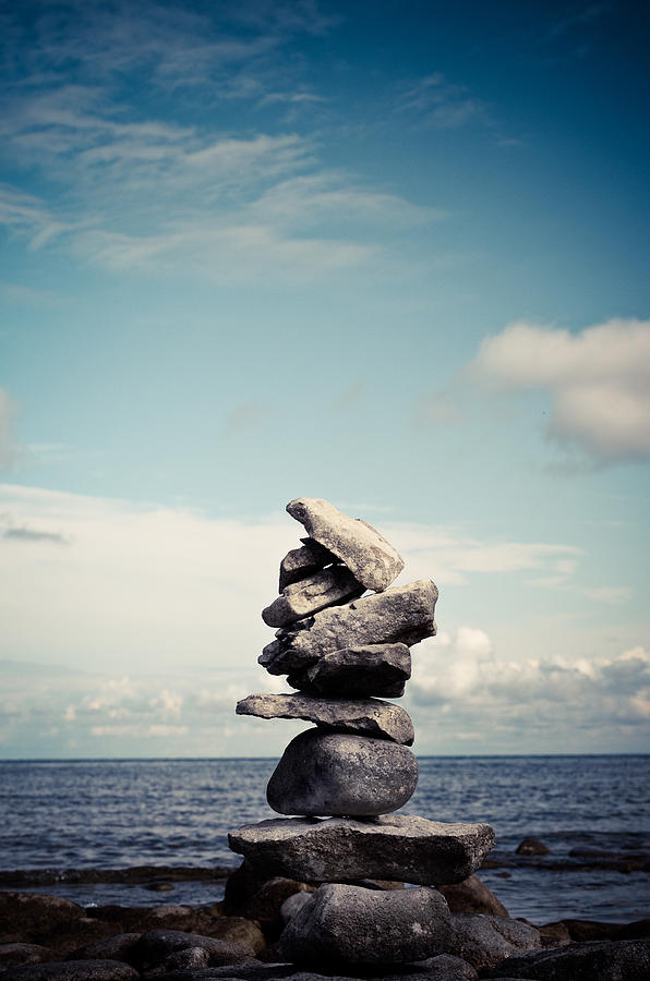 Nature Photograph - Balance by Olivia StClaire