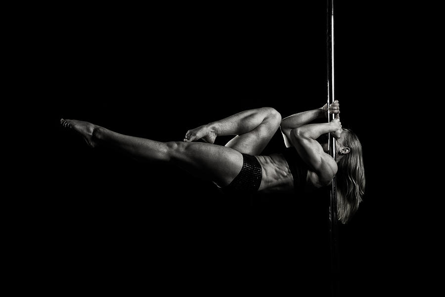 Pole Photograph - Balance Of Power 2012 Series #9 Intense by Monte Arnold