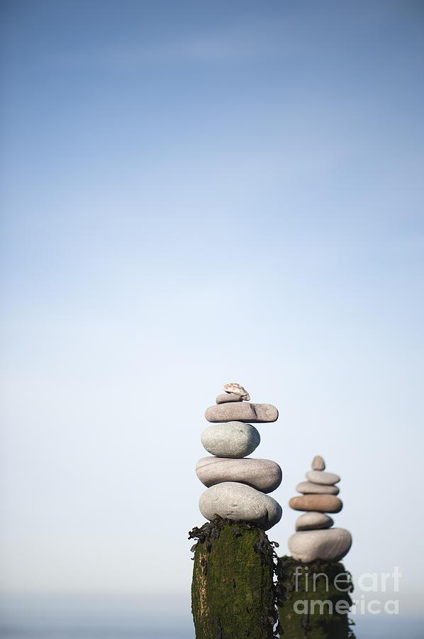 Artificial Photograph - Balanced by Anne Gilbert