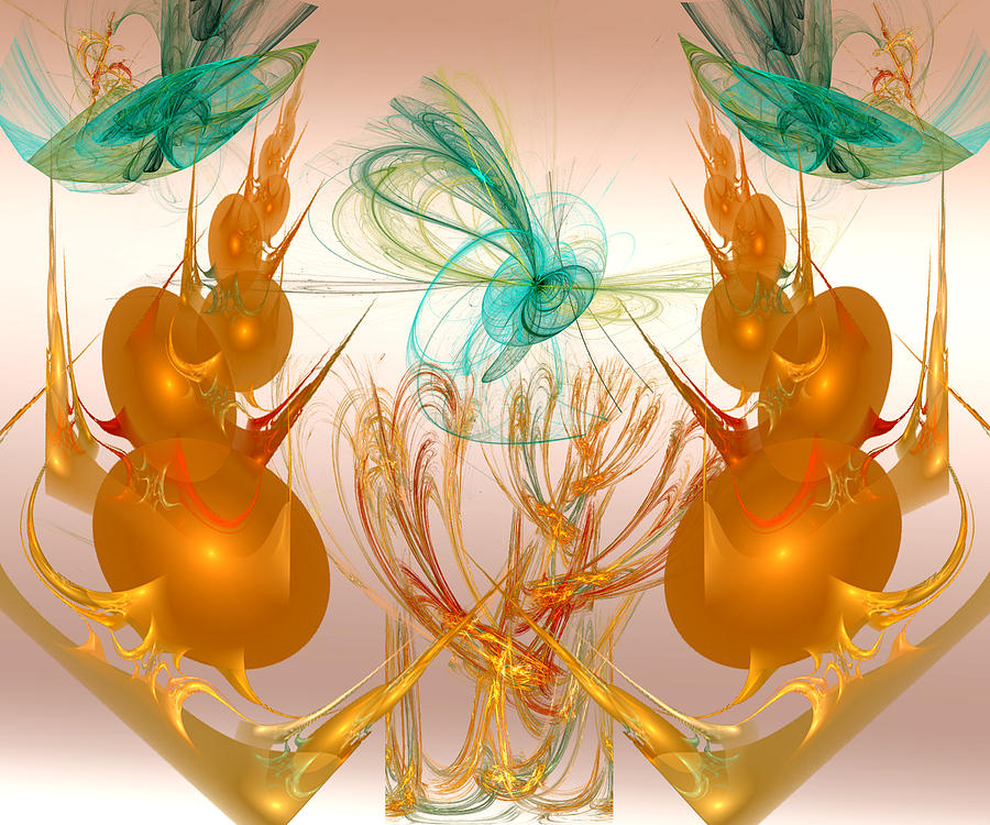 Balancing Digital Art - Balancing Act by Camille Lopez