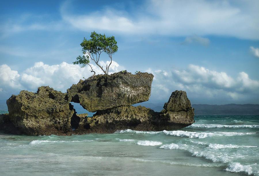 Sea Photograph - Balancing Act by Kim Andelkovic