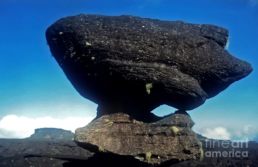 Rock Photograph - Balancing Rock by Steven Valkenberg