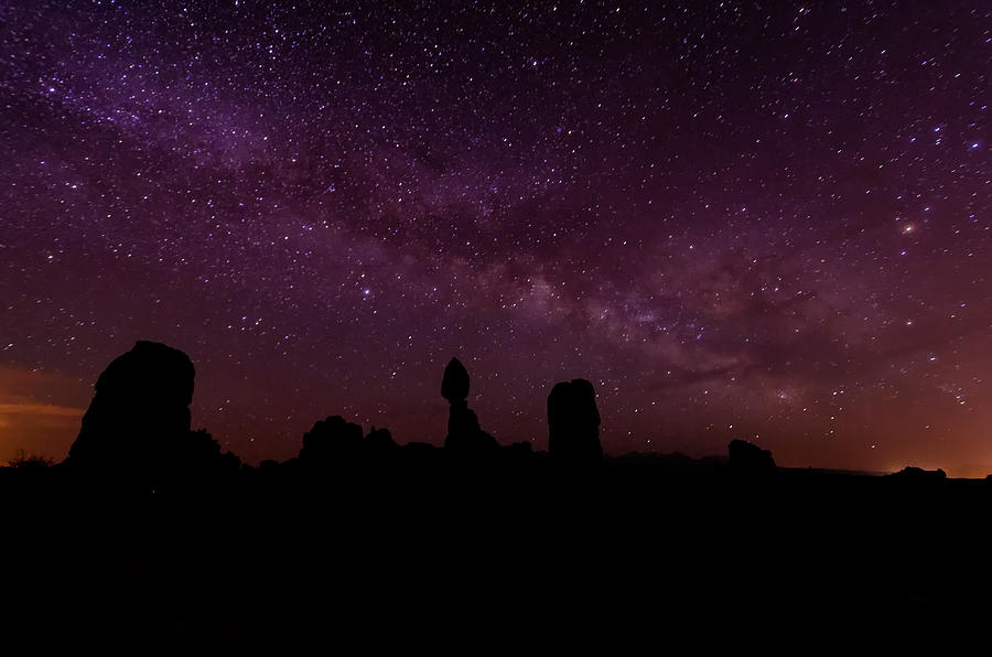 Arches National Park Photograph - Balancing The Universe by Silvio Ligutti