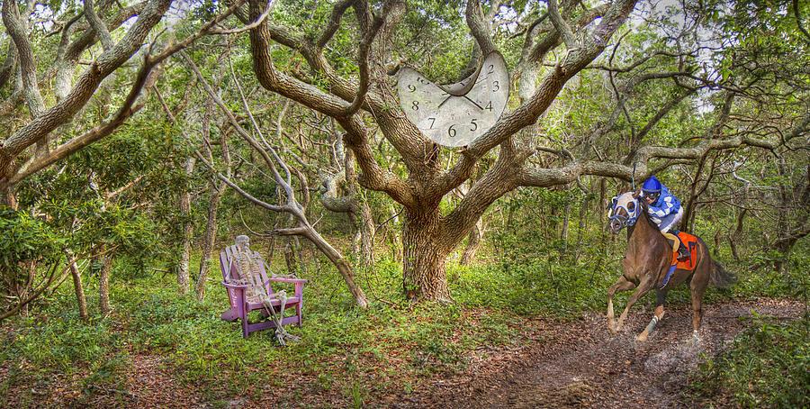 Balancing Time Digital Art