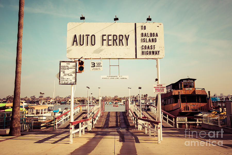 Ferry To Newport Beach