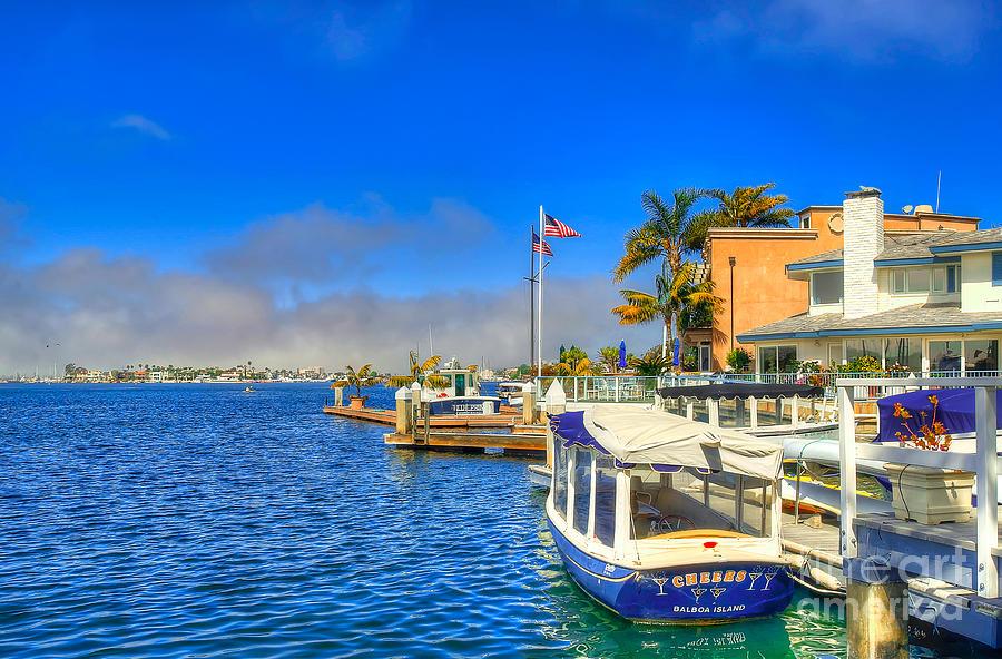Balboa Photograph - Balboa Island - North by Jim Carrell