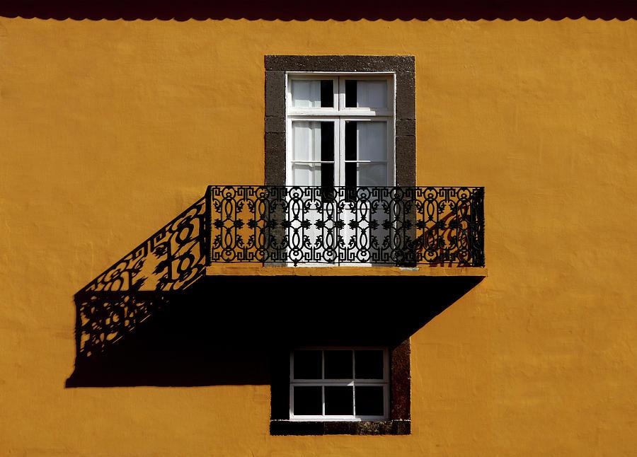 Balcony Photograph - Balcon by Hans-wolfgang Hawerkamp