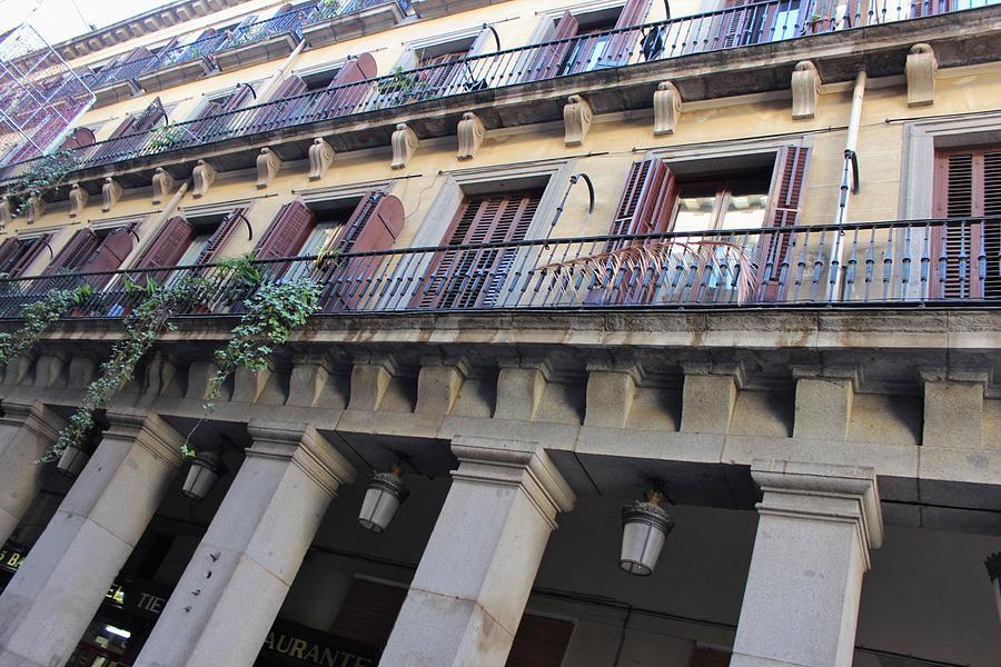 Balconies Photograph - Balcones II by Magda Levin-Gutierrez