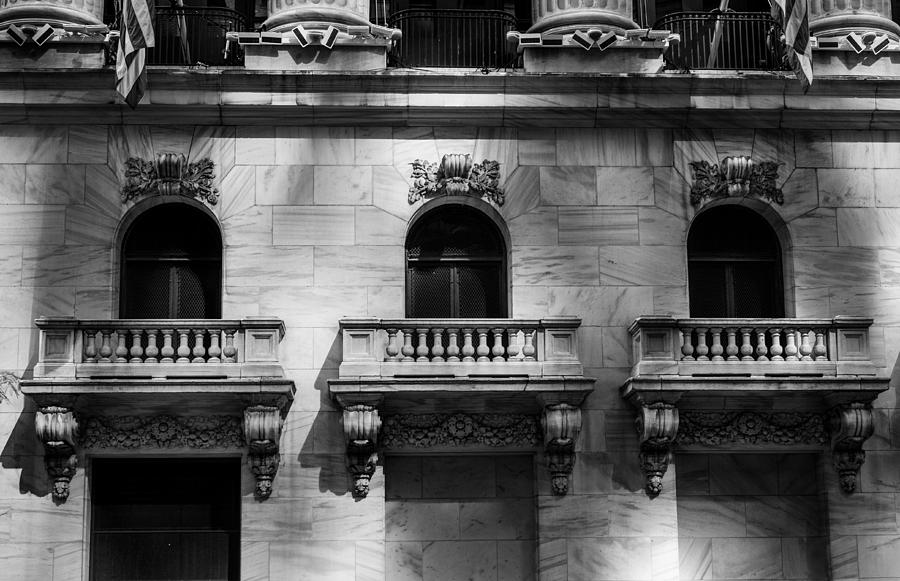 Architecture Photograph - Balconies At Nyse  by Jose Maciel
