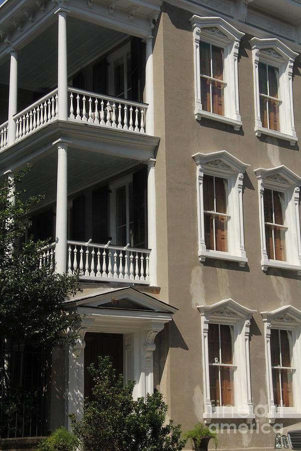 Balcony And Windows Photograph