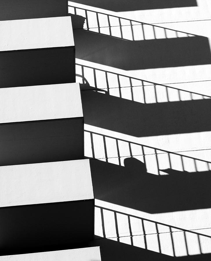 Building Photograph - Balcony by Catherine Lau