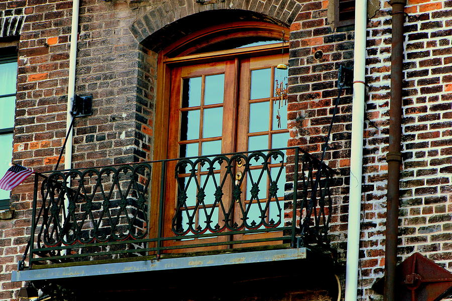 Balcony Photograph - Balcony Doors by Pete Dionne