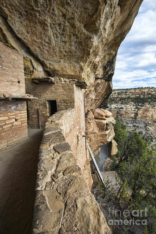 Mesa Verde National Park Photograph - Balcony Houes 2 by Keith Ducker