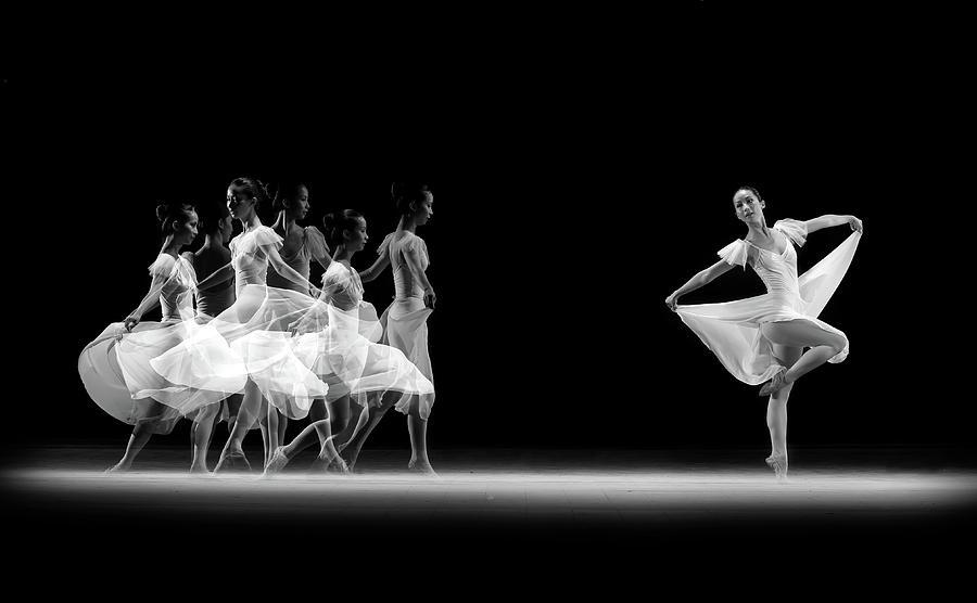 Ballerina Photograph - Balerina Movement by Antonyus Bunjamin (abe)
